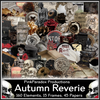 Pink Paradox Autumn Reverie Scrap Kit