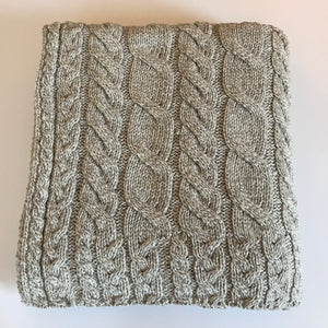 Aran Merino Throw