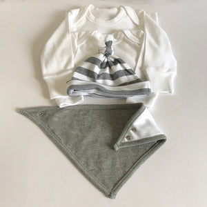 Grey Organic New Baby Hamper