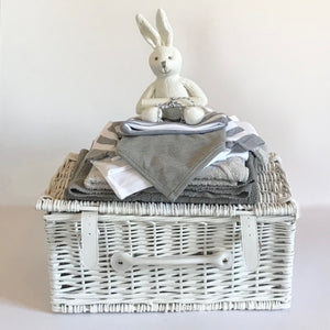 Luxury Hints of Grey Baby Hamper