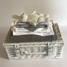 Load image into Gallery viewer, Grey Organic New Baby Hamper
