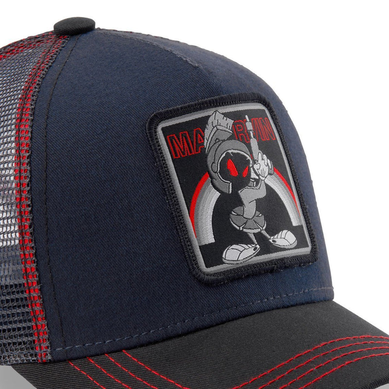 CAPSLAB LOONEY TUNES MARVIN THE MARTIAN GREY CAP - Rose London