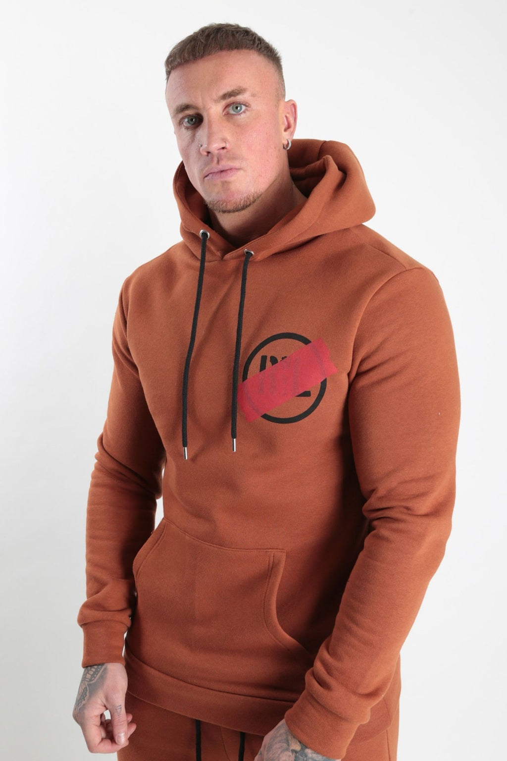 Circular Tape Hood Tan - Rose London