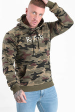 Classic Camo Hood Camo - Rose London
