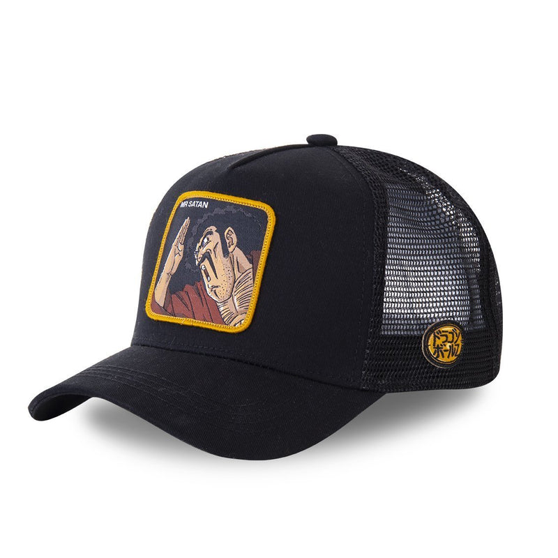MEN'S CAPSLAB DRAGON BALL Z MR SATAN CAP - Rose London