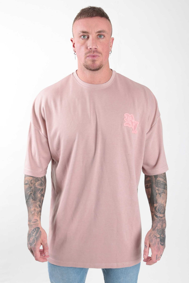 Pink Extreme Oversize T-shirt - Rose London