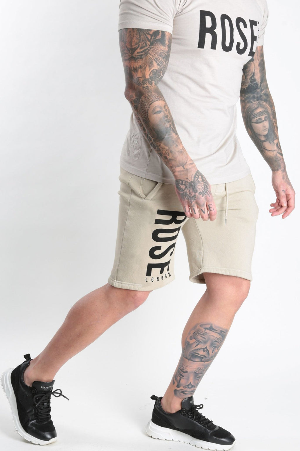 Rose Basic Logo Short Stone - Rose London