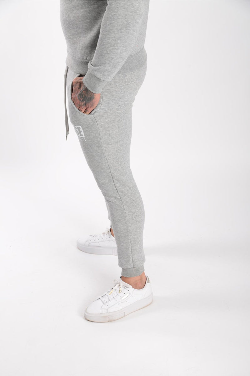 Rose London Box Logo Jogger Marl Grey - Rose London