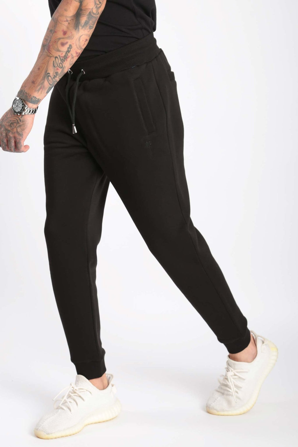 Rose London Core Cuffed Jogger Black - Rose London