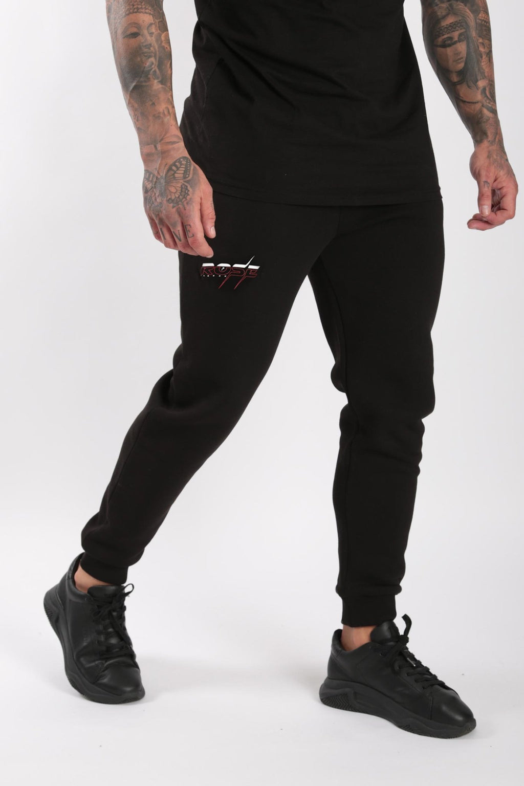 Rose London Injection Print Jogger Black - Rose London