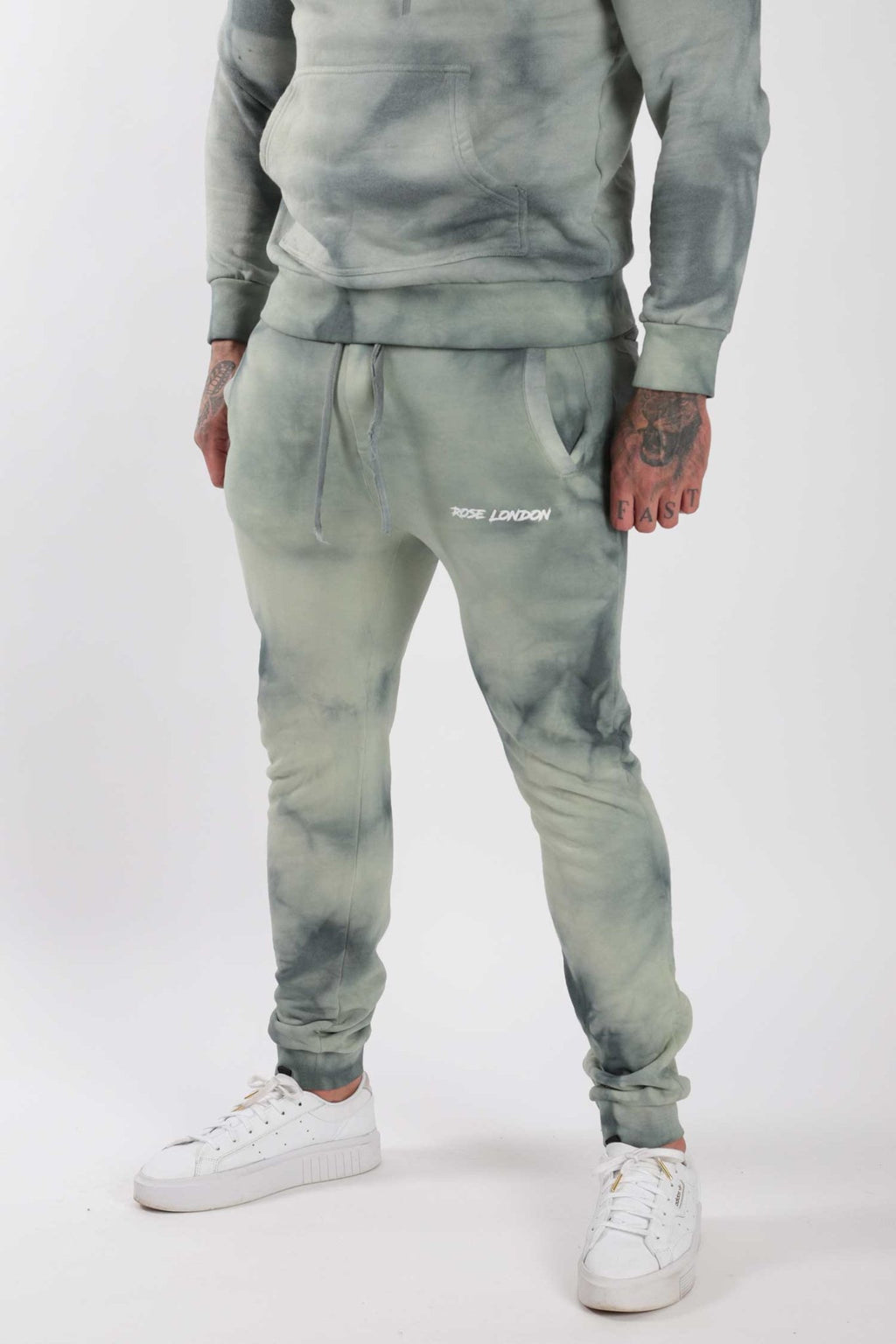 Rose London Tie Dye Jogger Sage - Rose London