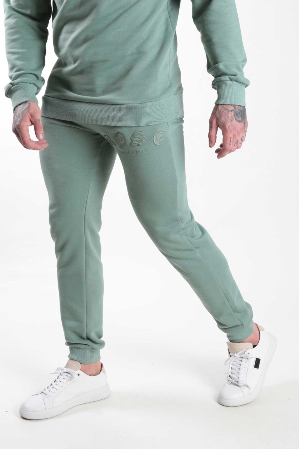 Sage Rose Aplique Jogger - Rose London