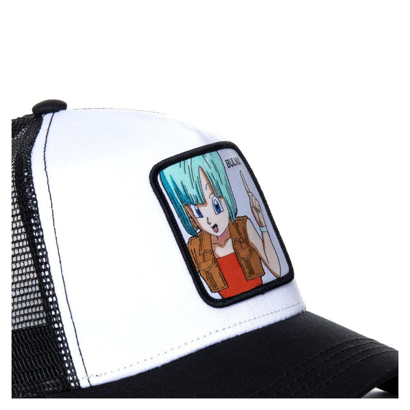 TRUCKER CAP CAPSLAB DRAGON BALL Z BULMA BLACK - Rose London
