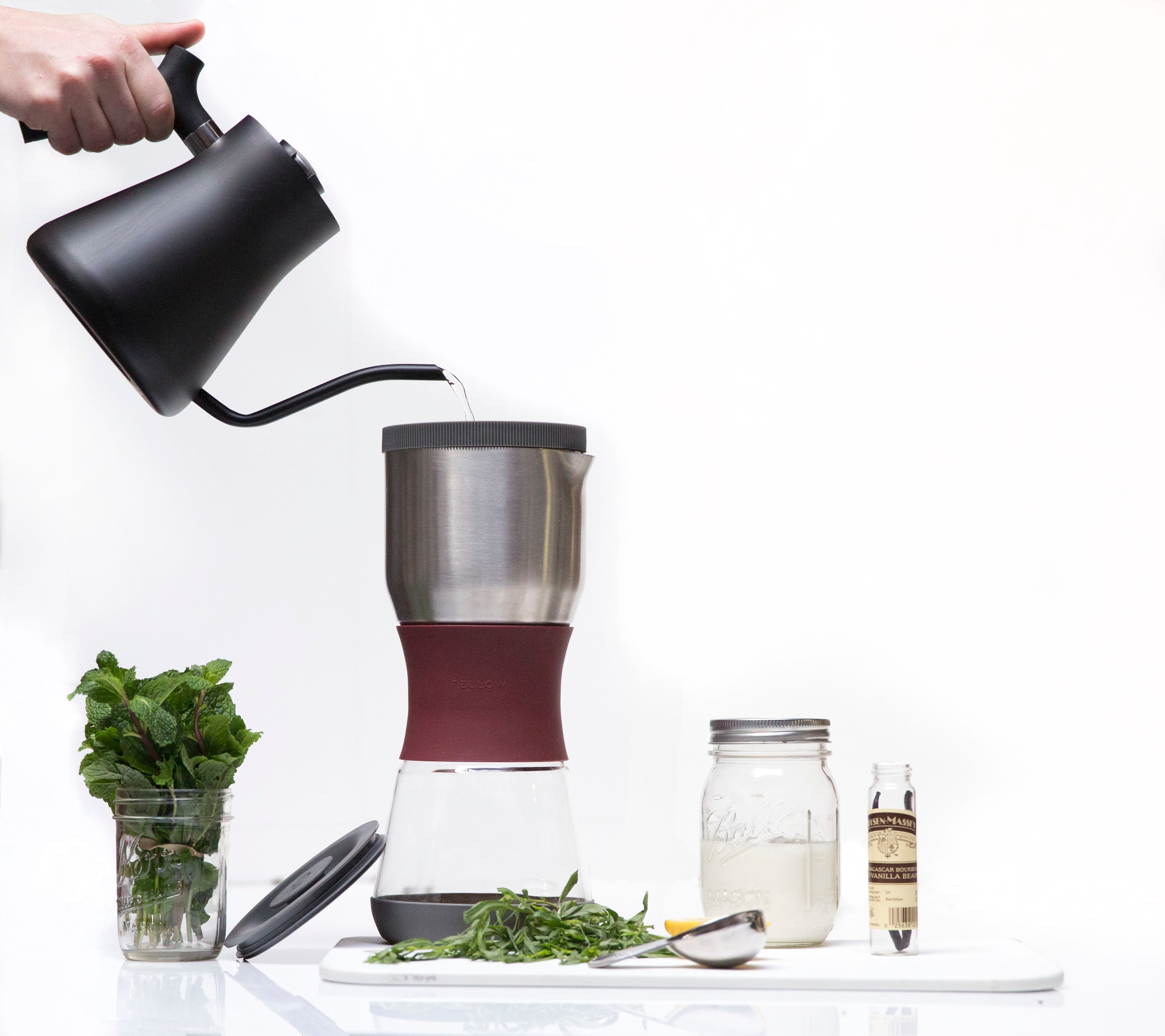 Duo Coffee Steeper with Tea Filter