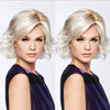 Natural White Gold Roll Wig