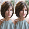 Front Mixed Brown / Black BOB Wig