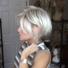 Personality Platinum Mixed Short Wig