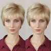 Sweet Love Linen White Gold Short Wig