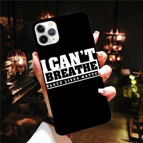 Phone Protective Case - I Can't Breathe & Black Lives Matter