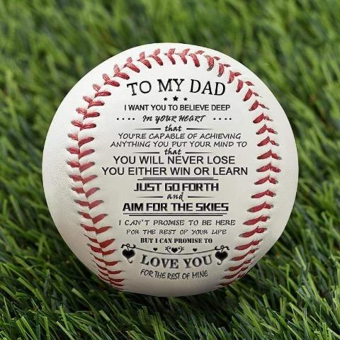 To My Dad - You Will Never Lose - Baseball