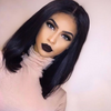 Glamour Black BOB Straight Wig