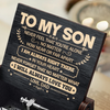 Dad To Son - Never Feel That You're Alone - Black Music Box