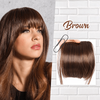 Clip-On Bangs Wig Piece