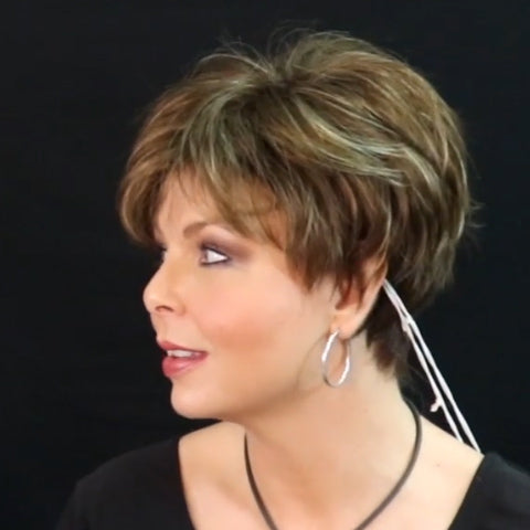 Popular honey brown short wig