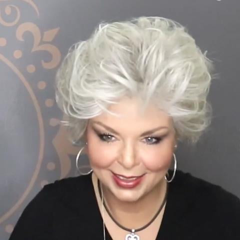 2021 Sweet White Short Wig