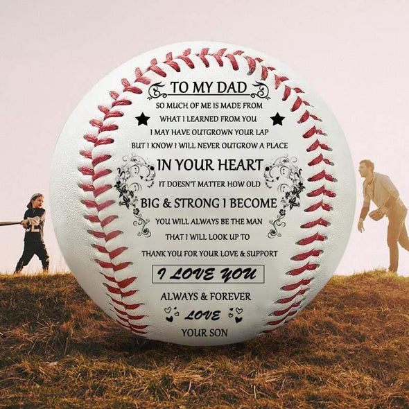 Son To Dad - I love you always & forever - Baseball