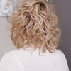 Casual Gold BOB Wave Wig