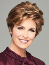 Charming Brown Short Wig