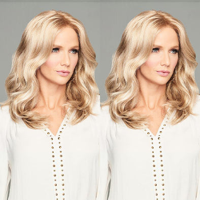 Charm Gold Long Wave Wig