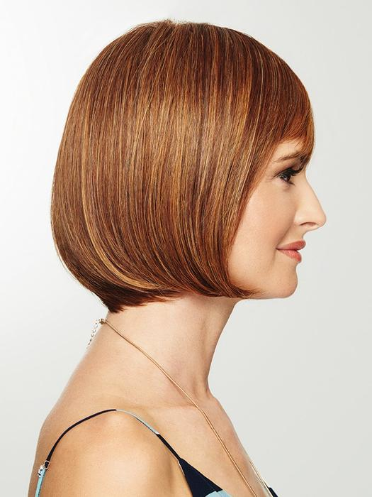 Charming Red Brown BOB Wig
