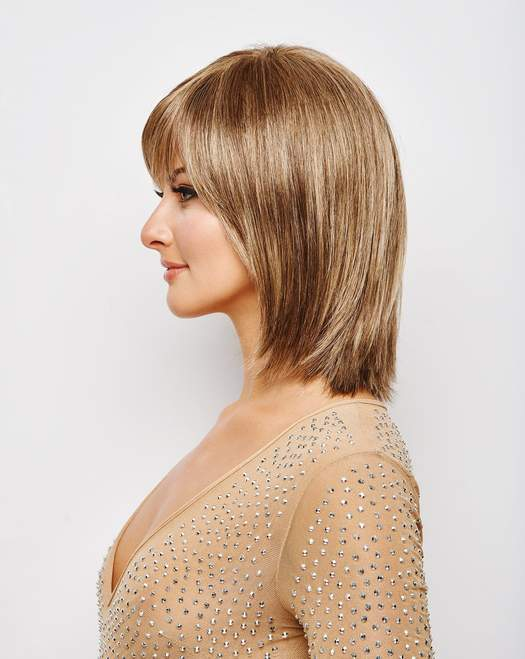Romantic Brown BOB Wig