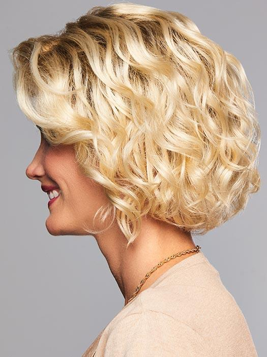 Queen Gold BOB Wave Wig