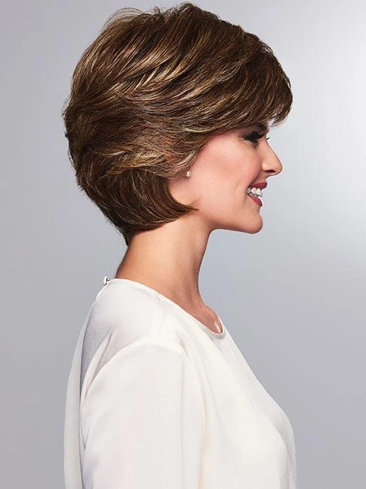 Queen Brown Short Wig