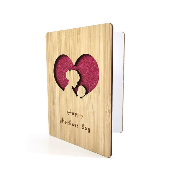 2021 Wooden Mother's Day Thank You Card