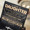 Dad To Daughter - Never Feel That You're Alone - Black Music Box