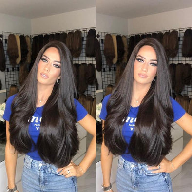 Beauty Long Natural Black Wig