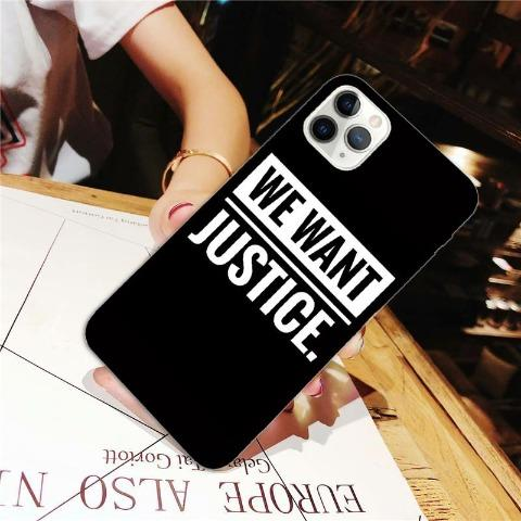 Phone Protective Case - We Want Justice