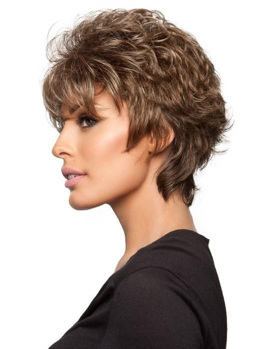 Natural Brown Short Wig