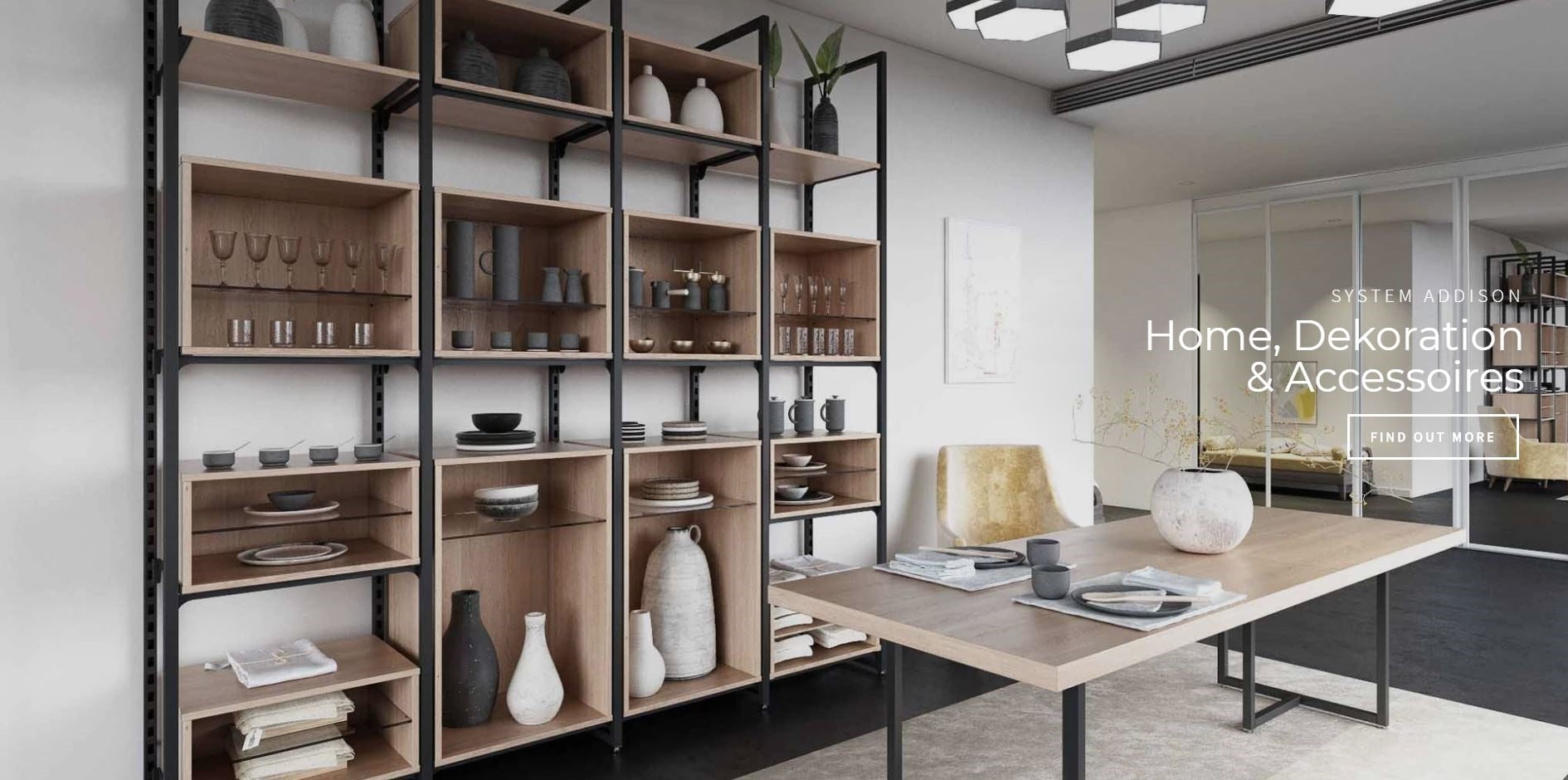 Wall Systems Shop Shelves Buy Shop Furniture
