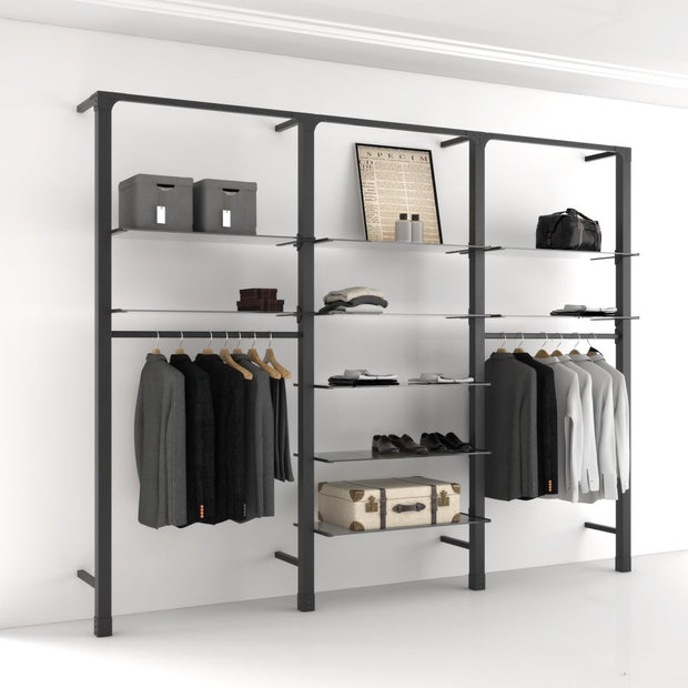 Ladenbausystem Brooklyn Wandsystem, Fashion Style 2-Ladenbausysteme-Mandai Design-Mandai Design