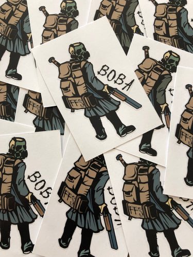 BOBA GASMAN STICKER