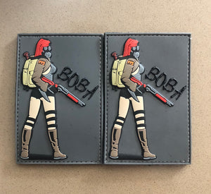 BOBA GASGIRL PVC PATCH