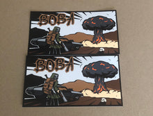 Load image into Gallery viewer, NEW BOBA DESIGN LOGO sticker