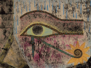 The Eye of Horus Canvas