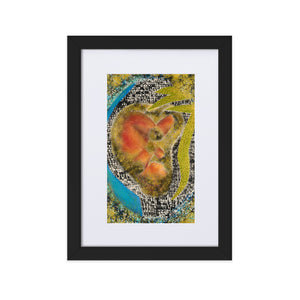 9E:6irth (RE:birth) Matte Paper Framed Poster With Mat
