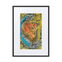 Load image into Gallery viewer, 9E:6irth (RE:birth) Matte Paper Framed Poster With Mat